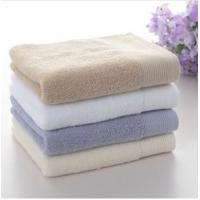 plush 100%cotton banded bath towel