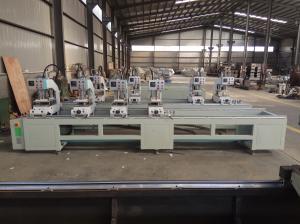 China Multi Head UPVC Window Machine , Doors And Window Pvc Welding Machine on sale
