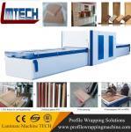 wooden mdf kitchen cabinet doors vacuum membrane press machine