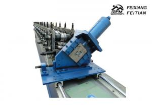 China Ladder Cable Tray Roll Forming Machine Cover Available With Punching Holes on sale