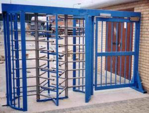 China RFID intelligent high speed swing turnstiles gates for access control on sale