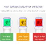 High sensitive gun type no touch contactless infrared thermometer check for fever