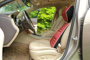 China Red Car Seat Lower Back SupportPillows With High Elasticity Strap Release Pressure on sale