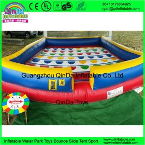China kids sport games new square playing game mat large inflatable twister game for sale on sale