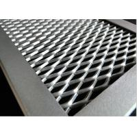 Expanded Metal Screen Facade , Aluminum Facade Panels For Architectural Building