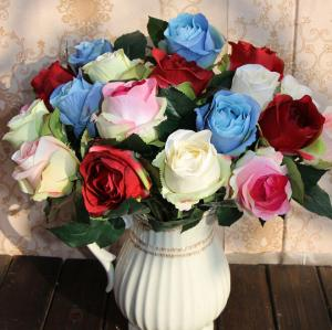 China UVG Decoration flowers Wholesale Table Centerpiece Real Touch Flower Rose on sale