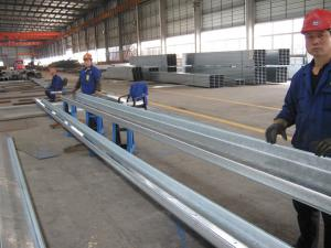 Common-used C and Z Section Galvanised Steel Purlins For Fix