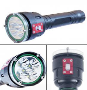 China 5 Led High Lumen LED Dive Torch 100m Underwater Led Diving Flashlight on sale