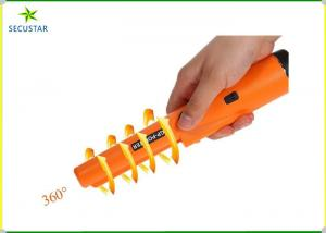 China 360 Degree Round Stick Super Scanner Handheld Metal Detector For Public Security on sale