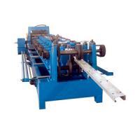Hydraulic Cutting 5.5KW C Purlin Cold Roll Forming Machine 10 - 12M / Min Speed