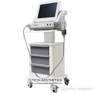China Portable Anti Wrinkle Face Lift HIFU Beauty Machine With 15 Inch Touch Screen on sale