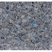China Stone Cutting Artificial Quartz Jewelry Blue Abrasion Resistance Quartz Stone Slab on sale