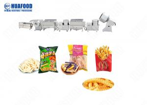 China Semi Automatic Potato Chips Processing Machine Potatoes Processing Line Price on sale