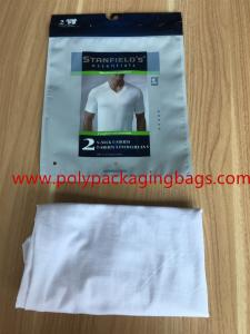 China resealable men's underwear bag, custom printed underwear bag on sale