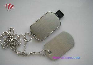 China 1GB 2GB 4GB 8GB 16GB 32GB Army Tag Dog Tag USB Flash Driver on sale