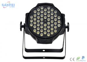 China Alloy Material Led Par 64 Lights / Professional Stage Lighting Wash Effect on sale