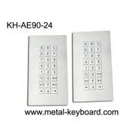 24 Keys Metal Industrial Rugged vandal proof keyboard IP65 Weatherproof