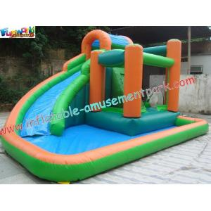 China Fire Retardant And Water-proof Kids Indoor Outdoor Inflatable Water Slides Pool Toys on sale