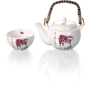 China New Bone China Tea Set on sale