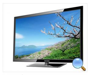 China 43 inch Ultra Thin 1080P HD LCD TV  With 5000:1 Contrast Ratio on sale