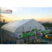 China 40m Width Portable Aluminum Waterproof  Exhibition TFS Polygon Tent Structures With Air Conditioner on sale