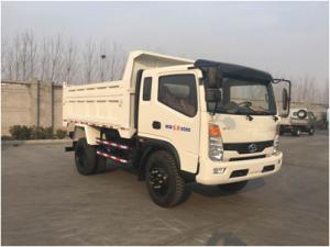 China 10 T Payload Cargo Delivery Truck , Light Duty Tipper Truck production Projects on sale