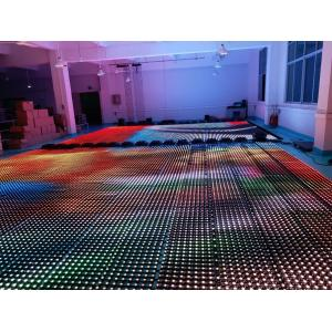 China Flexible Soft Led Curtain Panel Wall , Foldable Stage Background LED Display Big Screen on sale