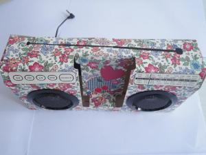 China Foldable paper speaker for ipod ipad iphone on sale