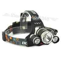 China 5000 Lumen T6+2R5 Boruit Head Light Headlamp Outdoor Light Head Lamp HeadLight Rechargeabl on sale