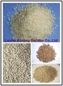 China cattle skin gelatin used for feed binder on sale