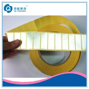 China Printing Self Adhesive Stickers , Aluminium Foil Labels For Cosmetic on sale
