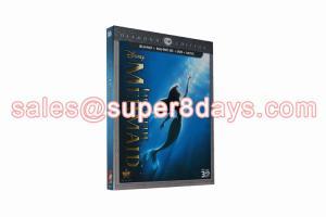 China Disney Movies Blu-ray DVD The Little Mermaid 3D DVD Cartoon Disney Blue Ray DVD Wholesale Supplier on sale