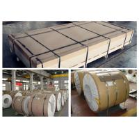 China Auto Body Sheet Aluminum Sheet Metal Rolls Coil AMr3/1530 EN AW 5754 2560mm OD on sale