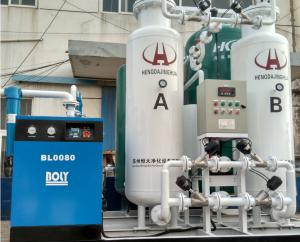 China Air Separation PSA Oxygen Generator / Oxygen Plants with Pressure 0.1-0.7MPa and Rapid Nitrogen Production on sale