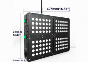China 480w APP Control Wireless Led Grow Light , Indoor 5w Double Led Chips Plant Grow Light on sale
