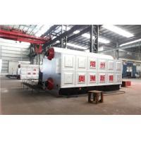 Dual Rear Drum Vertical Spiral Coal Fired Steam Boiler Heating System