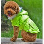 Diversa ropa del perro del verde del diseño