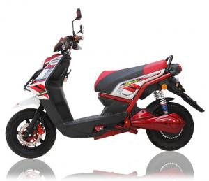 China 1500W Red Electrical Motorcycle 300Kgs Loading Electric Sports Motorcycle on sale