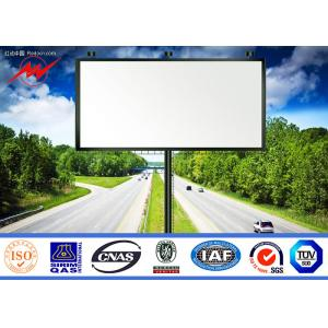 China Movable Mounted LED Screen TV Truck Outside Billboard Advertising , SGS on sale