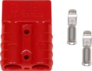 China 50A 600V Trailer Electrical Connector Red Wire Harness Plug Connector on sale