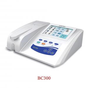 China Semi-auto Biochemistry Analyzer BC300,CE passed,test Blood glucose, fluid Touch screen on sale