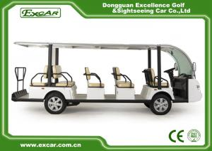 China Excar 14 Passengers Electric Sightseeing Car on sale