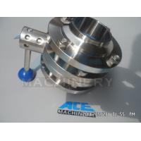 Sanitary Stainless Steel Pulling Hanlde Butterfly Valve (ACE-DF-7T)