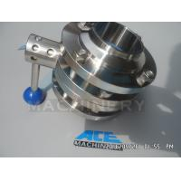 Stainless Steel Sanitary Butterfly Valve (ACE-DF-9V)