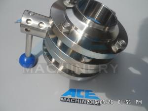 China Stainless Steel Sanitary Butterfly Valve (ACE-DF-9V) on sale