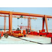 Outdoor Electric Industrial Gantry Crane With Hoist Single Girder A Frame