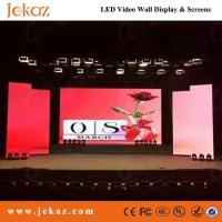 JEKAZ Full color Chip SMD P4 indoor fixed Led Display Screen for business advertising use