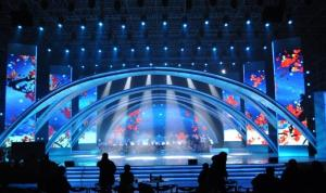China P4 Indoor Full Color LED Display RGB SMD 3 In 1 Stage Video Screens 1/16 Scan on sale