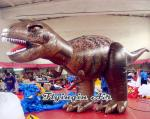 Full Printing Inflatable Tyrannosaurus Model for Outdoor and Indoor