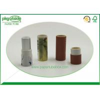 Clothes Cardboard Canister Packaging , Paper Tube Containers Damp - Proof